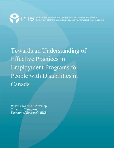 Employment Program Best Practices_IRIS